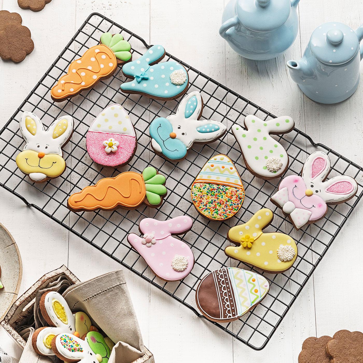 Biscoitos Decorados de Páscoa