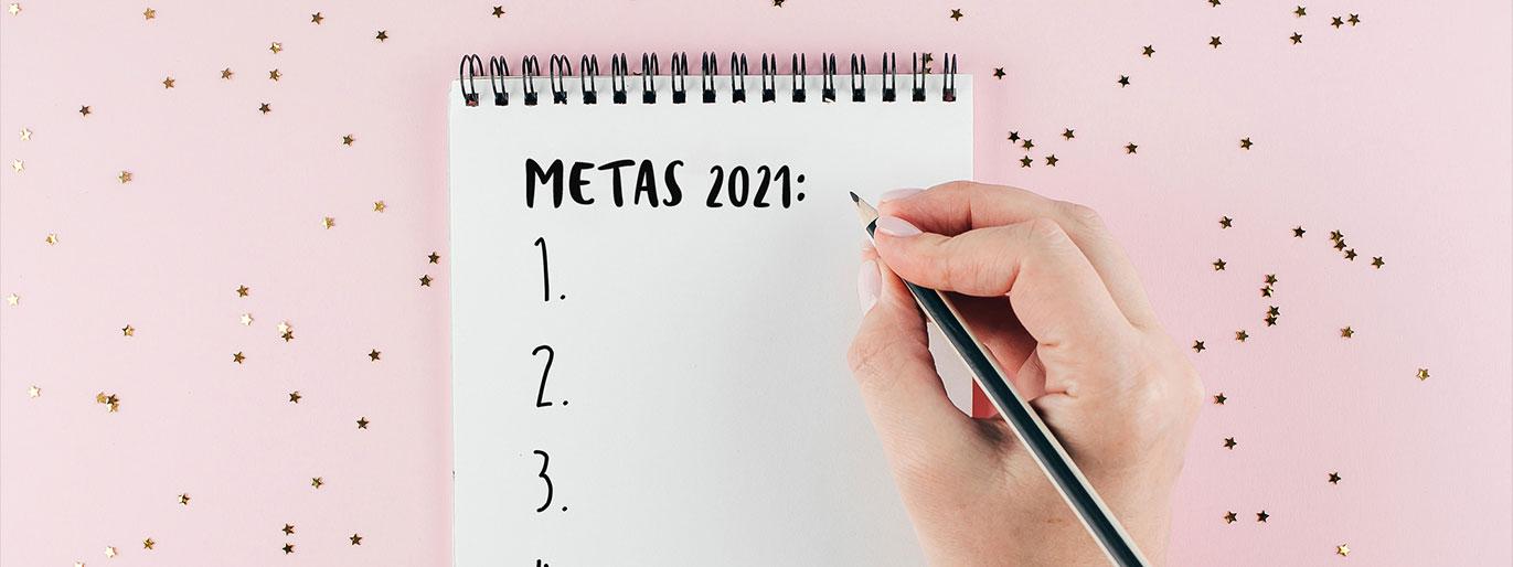 calendário de metas