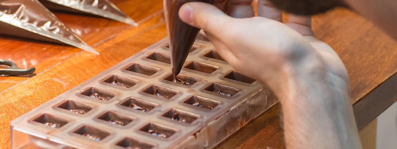 Forminhas de Chocolate
