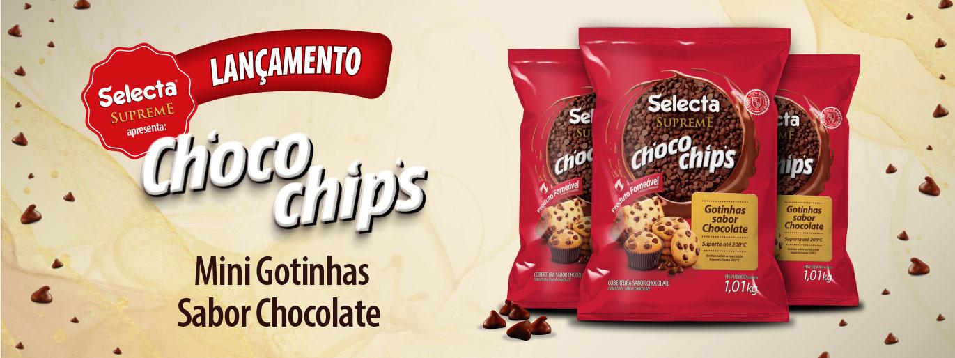 lançamento do novo choco chips